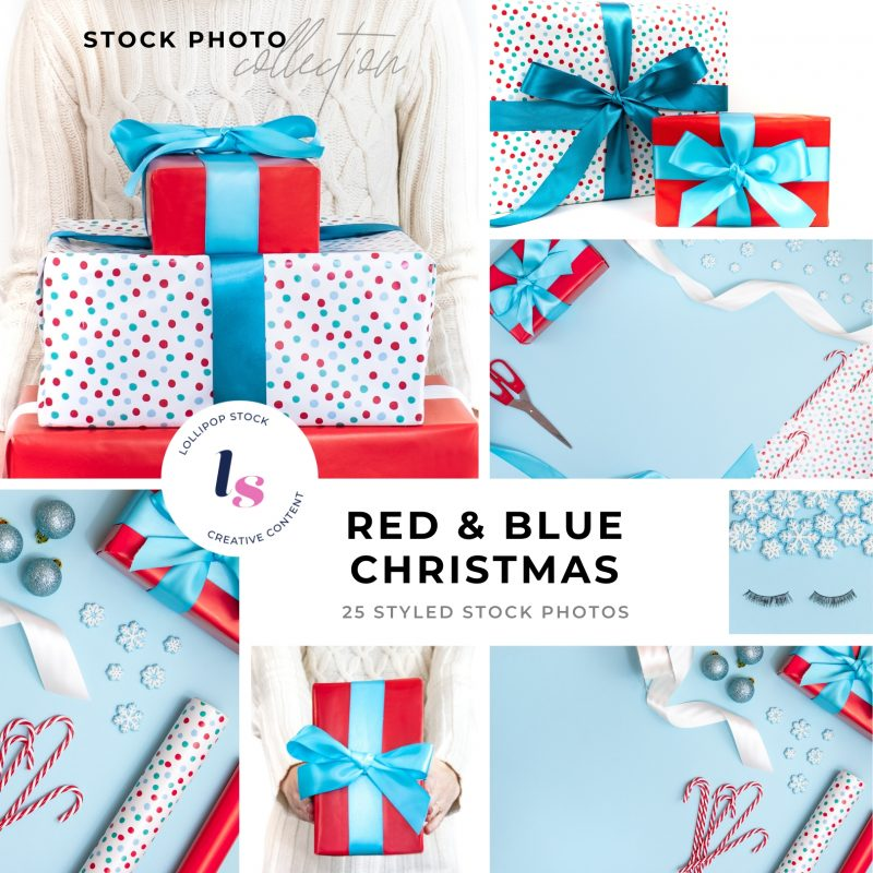 Blue & Red Christmas