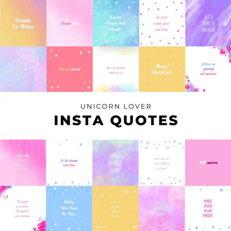 Unicorn Lover Quotes
