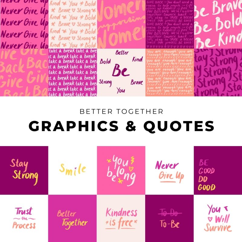 Better Together Graphics & Quotes