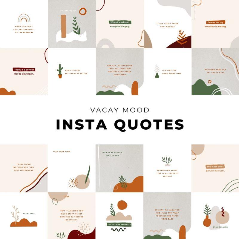 Vacay Mood Quotes