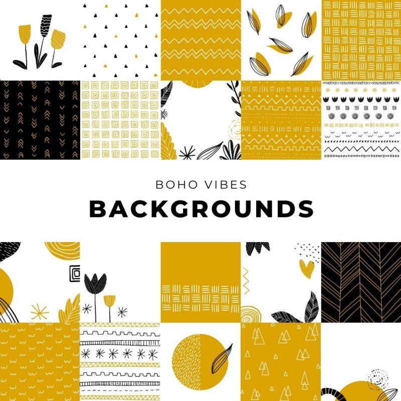 Boho Vibes Backgrounds